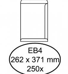 photo of Envelop Hermes akte EB4 262x371mm zelfklevend wit 250stuks