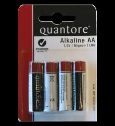 photo of Batterij Quantore AA pak a 4stuks
