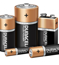 photo of Batterij Duracell Plus Power 8xAAA alkaline