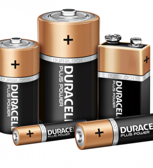 Batterij Duracell Plus Power 4xAAA alkaline Product image