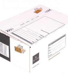 photo of Postpakketbox 2 CleverPack 200x140x80mm wit 25stuks