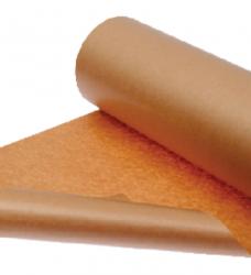 photo of Inpakpapier Kraft gestreept 70gr 100cmx100m op rol