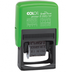 photo of Woordstempel Colop 220W green line