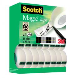 photo of Plakband Scotch Magic 810 19mmx33m onzichtbaar mat 20+4 gratis
