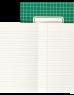 photo of Schrift 210x165mm 80blz gelinieerd assorti