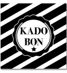 photo of Cadeaubon algemeen zwart wit genummerd