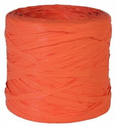 photo of Raffia fluor oranje  200m