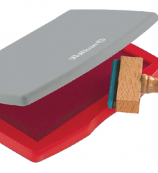 photo of Stempelkussen Pelikan 2E 110x70mm rood
