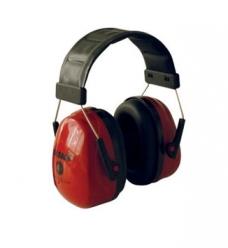 photo of Gehoorkap Sonora 2 met hoofdband rood 30dB/a