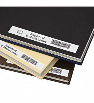 Labeltape Dymo 45013 D1 720530 12mmx7m zwart op wit Product image