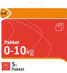 photo of Pakketzegel standaard pakket zelfklevend 0-10 kg