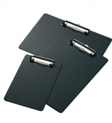 photo of Klembord LPC A5 staand met kopklem zwart