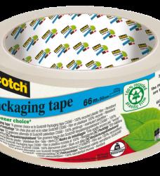 photo of Verpakkingstape Scotch 5066 50mmx66m Scotch Greener transp.