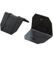 photo of Dooshoek 2cm zwart kunststof