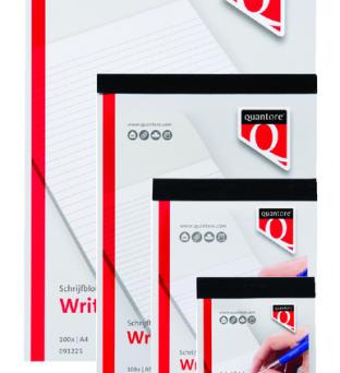 Schrijfblok Quantore A5 gelinieerd Product image