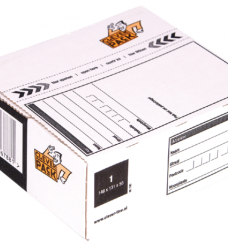 photo of Postpakketbox 1 CleverPack 146x131x56mm wit 25stuks