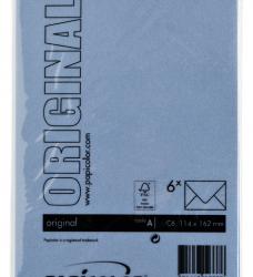 photo of Envelop Papicolor C6 114x162mm Donkerblauw