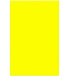 photo of Prijskaart fluor geel 21cm  x 30cm rechthoek