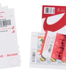 photo of Postzegel Belgie aangetekend kit 10 stuks