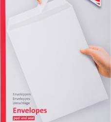 photo of Envelop Quantore akte C4 229x324mm zelfklevend wit 25stuks