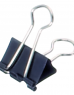 photo of Papierklem MAUL 213 foldback 19mm capaciteit 7mm zwart
