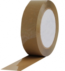 photo of Tape 25mm x 66m bruin acryl triple