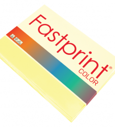 photo of Kopieerpapier Fastprint A4 80gr kanariegeel 500vel