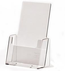 photo of Folderhouder 10.5cm x 14.8cm staand acryl