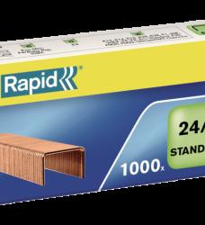 photo of Nieten Rapid 24/6 kopercoating standaard 1000 stuks