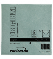 photo of Envelop Papicolor 140x140mm Dennengroen