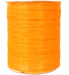 photo of Raffia licht oranje Raffia 100m