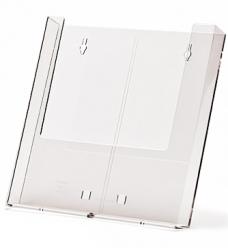 photo of Folderhouder 10.5cm x 14.8cm hangend + houder acryl