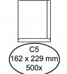 photo of Envelop Quantore akte C5 162x229mm wit 500stuks