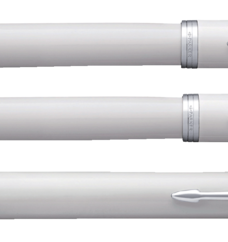 photo of Vulpen Parker IM white lacquer CT M